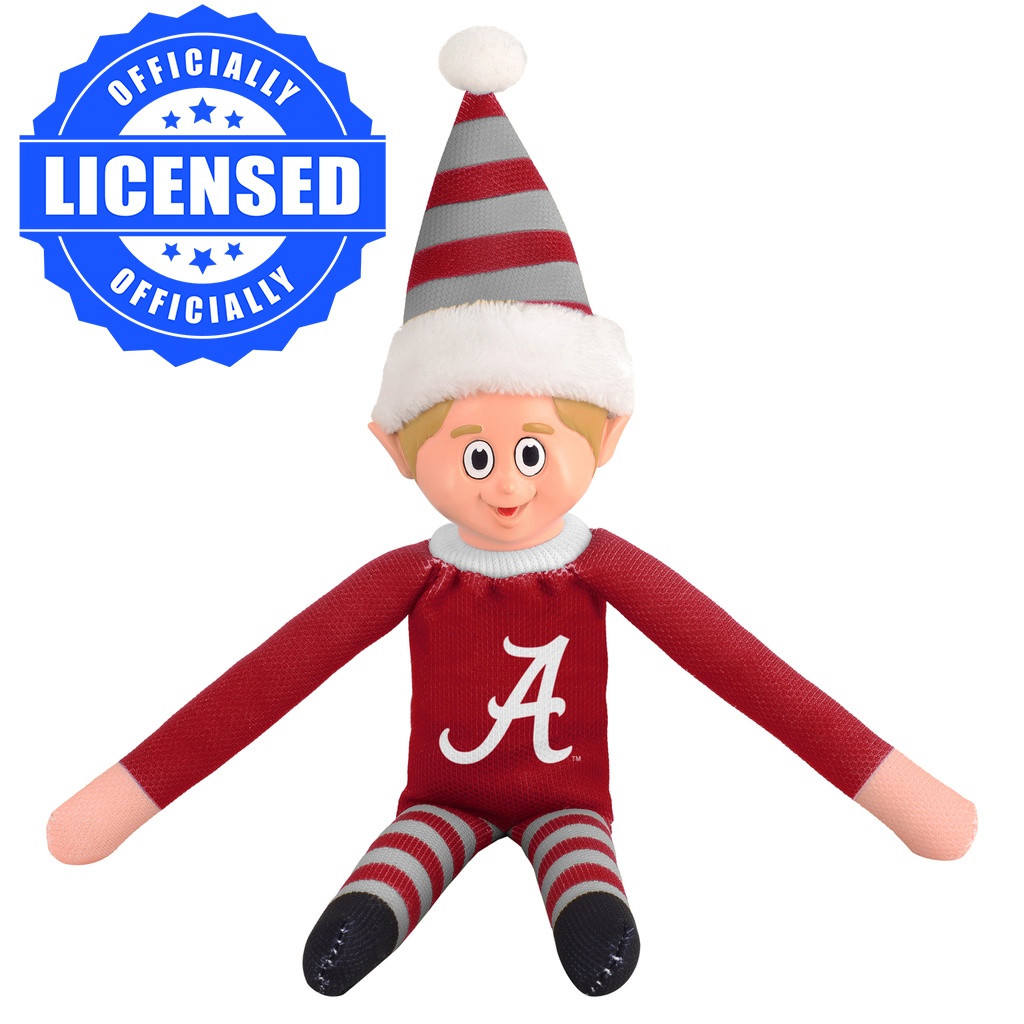Limited Edition Alabama Crimson Tide Plush Elf