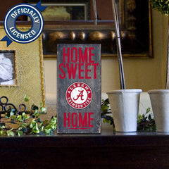 Officially Licensed Alabama Football Home Sweet Home Sign