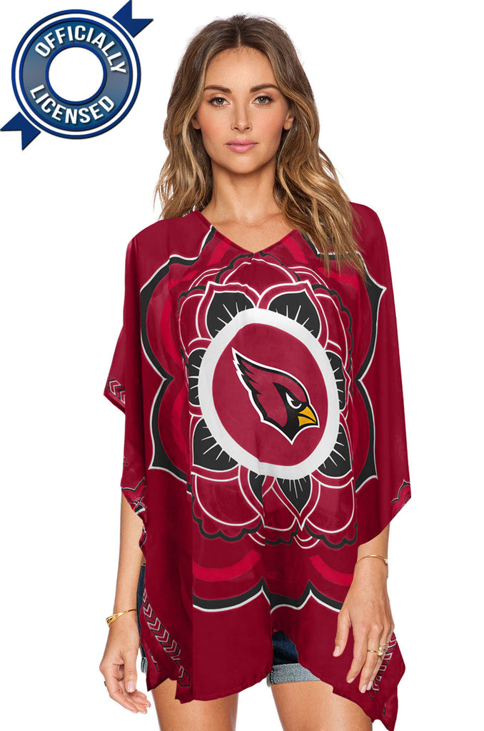Limited Edition, Officially Licensed Arizona Cardinals Caftan