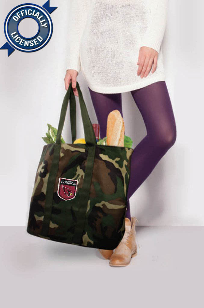 Officially Licensed Arizona Cardinals Camo Tote