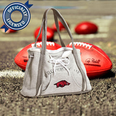 Officially Licensed Arkansas Razorbacks Hoodie Purse