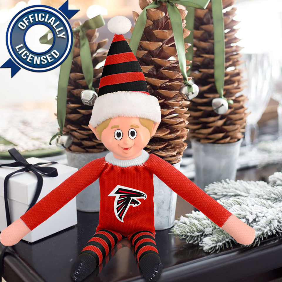 Limited Edition Atlanta Falcons Plush Elf