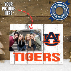 Officially Licensed Auburn Tigers Weathered Logo Photo Frame