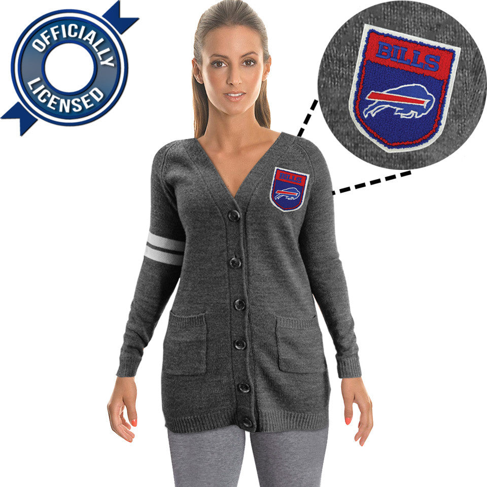 Officially Licensed Buffalo Bills Cardigan