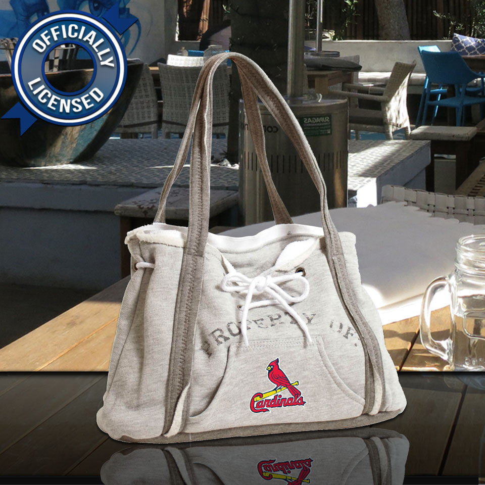 Officially Licensed St. Louis Cardinals Hoodie Purse
