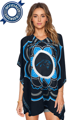 Limited Edition, Officially Licensed Carolina Panthers Caftan