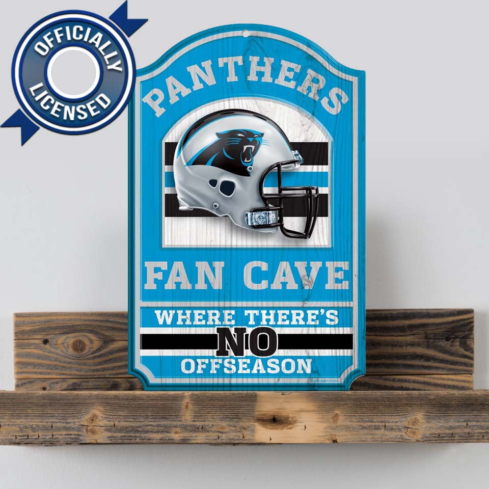 Officially Licensed Carolina Panthers Cave Sign