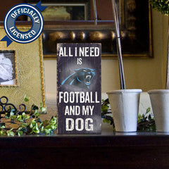 Officially Licensed Carolina Football and Dog Sign
