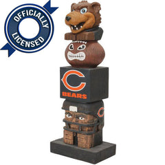 Officially Licensed Chicago Bears Tiki Totem
