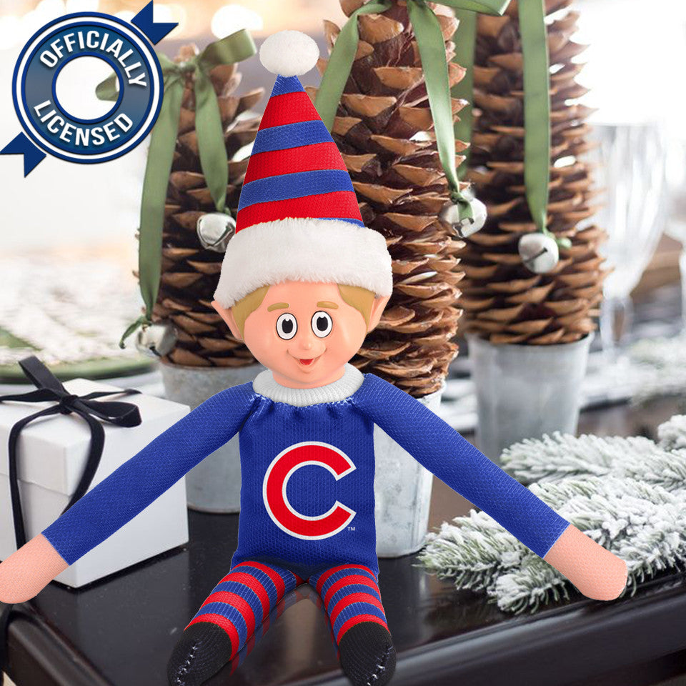 Limited Edition Chicago Cubs Plush Elf