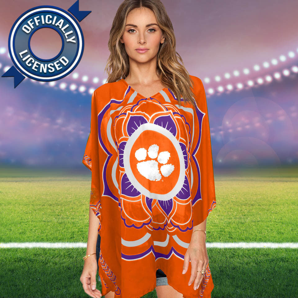 Limited Edition, Officially Licensed Clemson Tigers Caftan
