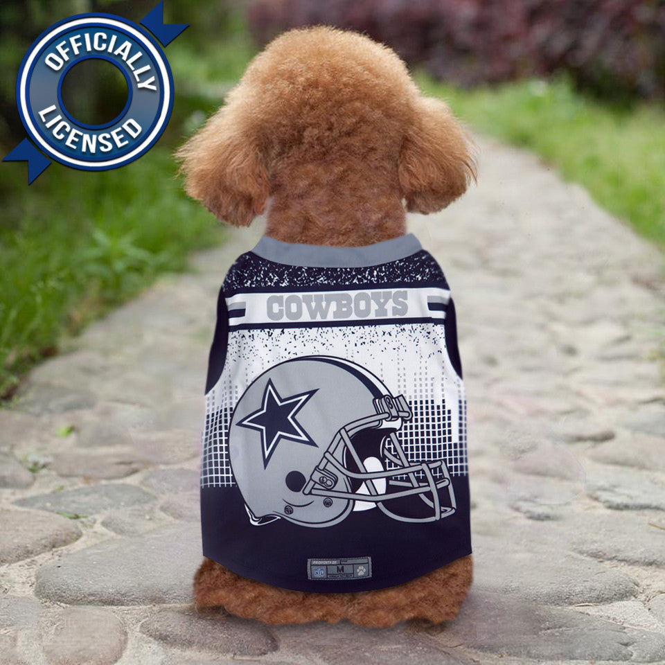 save off cfb34 df59d Officially Licensed Dallas Cowboys Pet Performance Tee Shirt