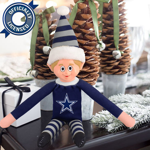 Limited Edition Dallas Cowboys Plush Elf