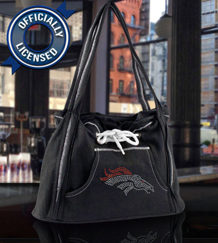 Broncos Black Hoodie Purse - FREE Shipping for Mother's Day