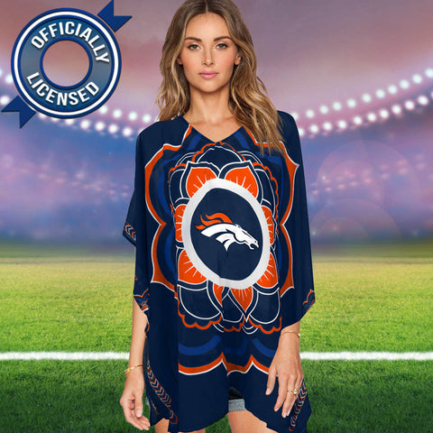 Limited Edition, Officially Licensed Denver Broncos Caftan