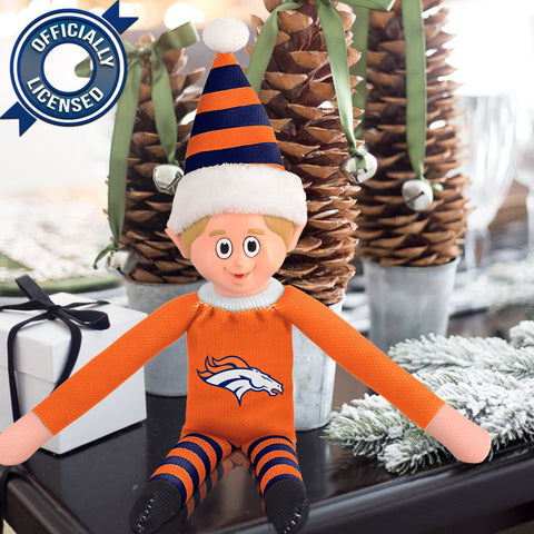 Limited Edition Denver Broncos Plush Elf