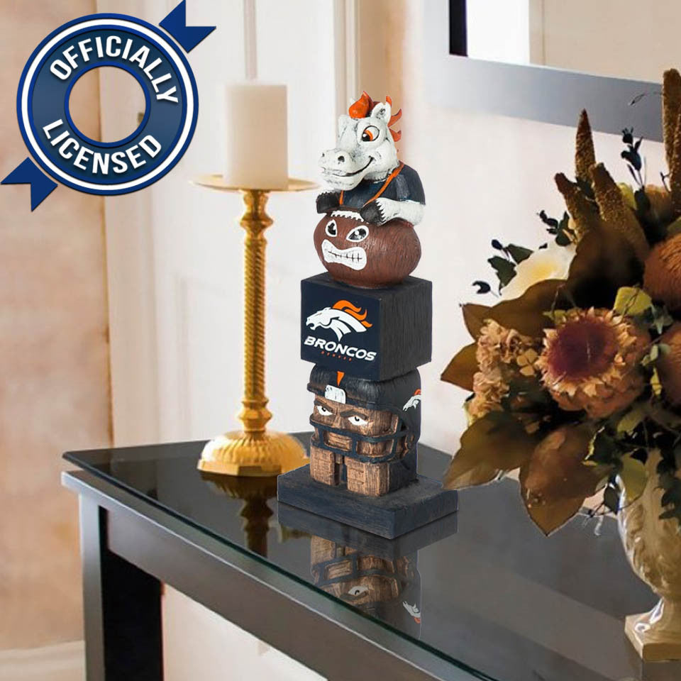 Officially Licensed Denver Broncos Tiki Totem