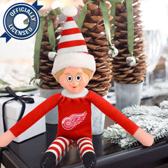 Limited Edition Detroit Red Wings Plush Elf