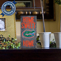 Officially Licensed Florida Football Home Sweet Home Sign