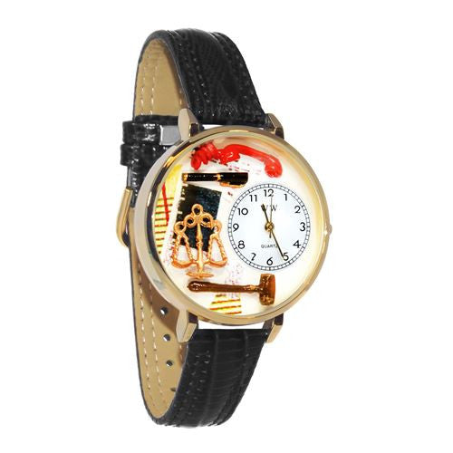 Hand-crafted Custom Lawyer Watch