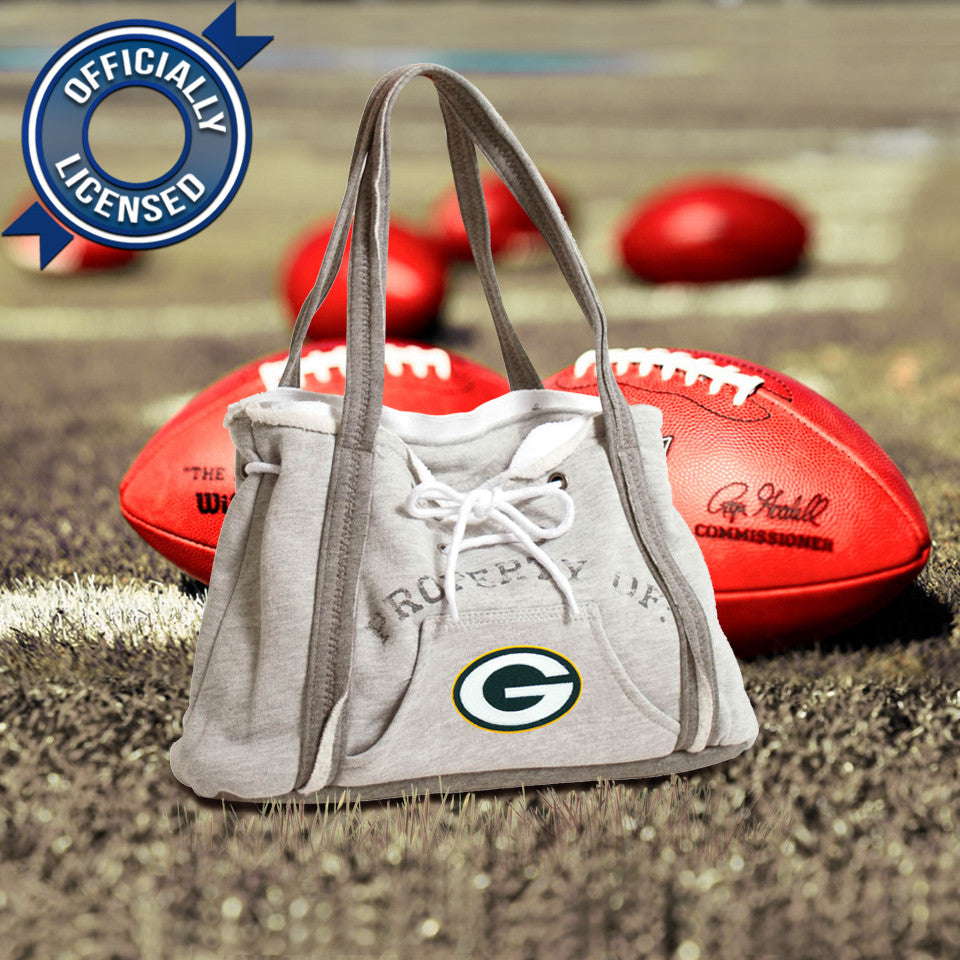 Officially Licensed Packers Hoodie Purse – Sandman Shop 5410e5b70