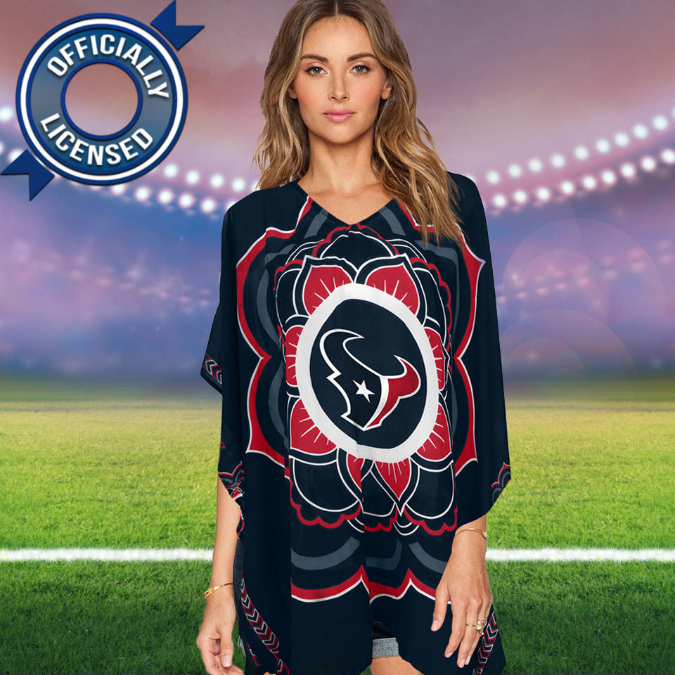 Limited Edition, Officially Licensed Houston Texans Caftan