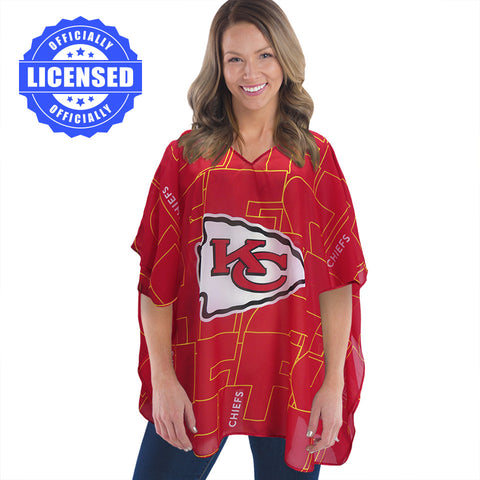 Just Released!  Officially Licensed Kansas City Chiefs Trace Caftan 2017 Edition