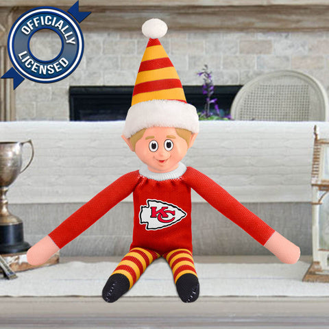 Limited Edition Kansas City Chiefs Plush Elf
