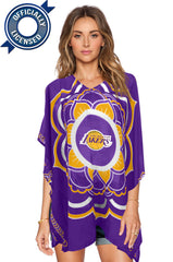 Limited Edition, Officially Licensed Los Angeles Lakers Caftan