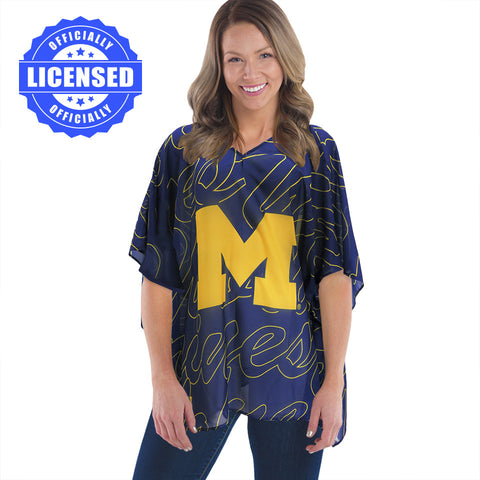 Just Released!  Officially Licensed Michigan Trace Caftan 2017 Edition