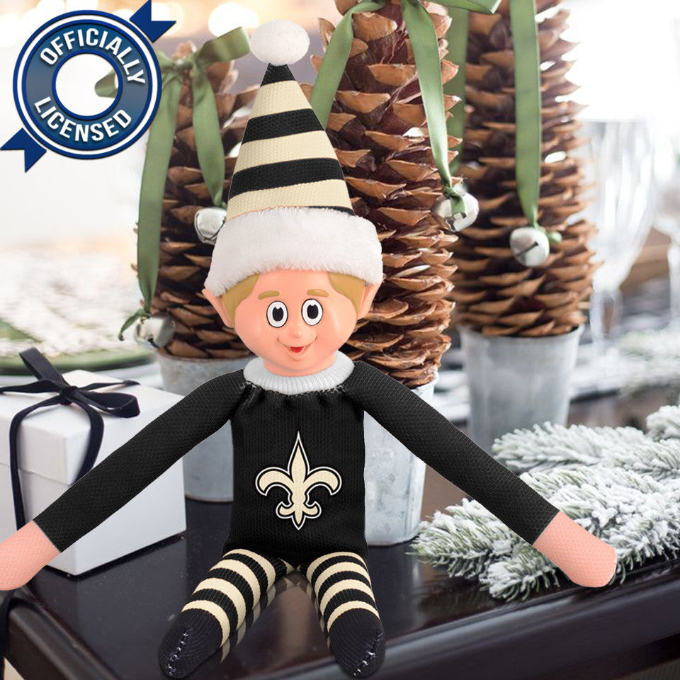 Limited Edition New Orleans Saints Plush Elf