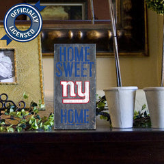 Officially Licensed New York Football Home Sweet Home Sign