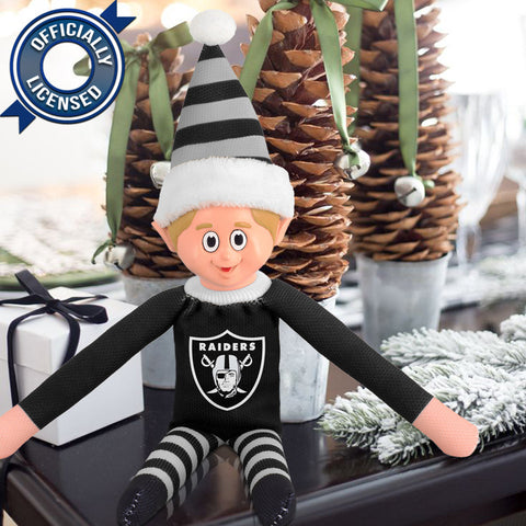 Limited Edition Oakland Raiders Plush Elf