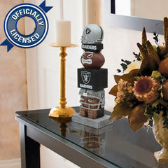 Officially Licensed Oakland Raiders Tiki Totem