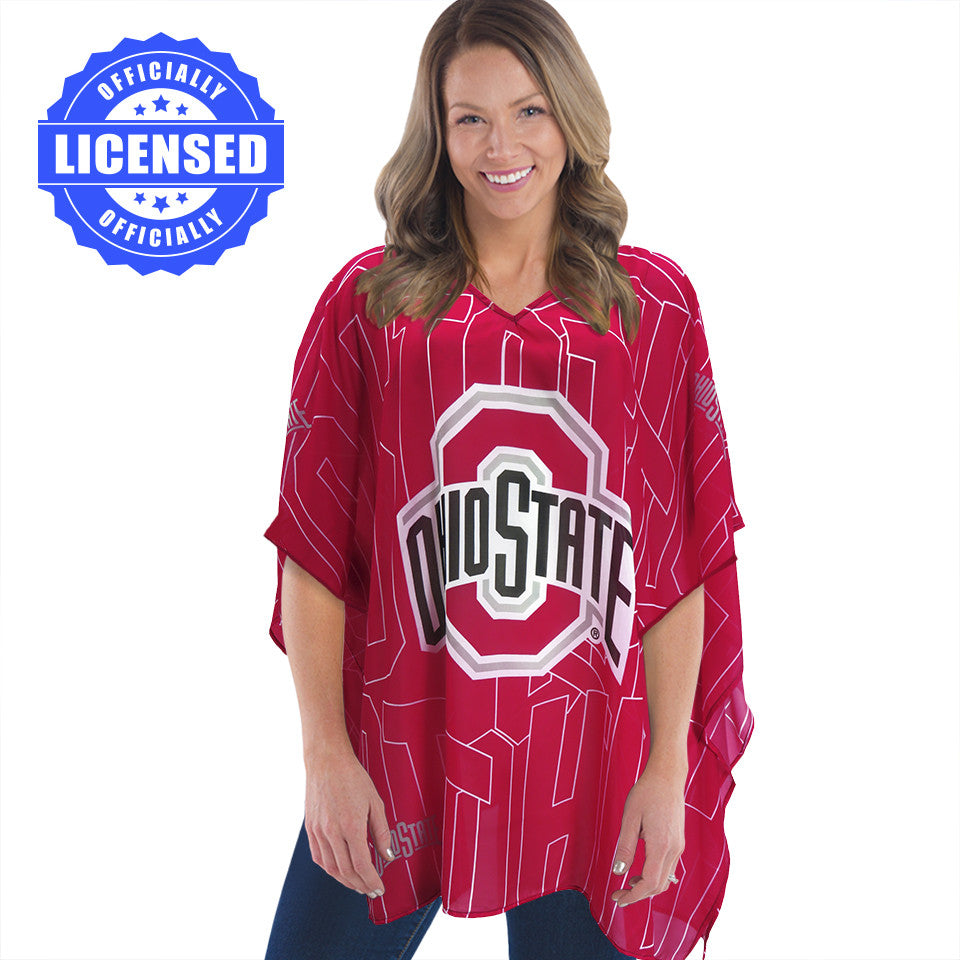 Just Released!  Officially Licensed Ohio State Trace Caftan 2017 Edition