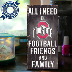 Officially Licensed Ohio State Football Friends And Family Sign