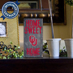 Officially Licensed Oklahoma Football Home Sweet Home Sign