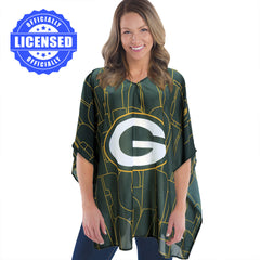 Just Released!  Officially Licensed Green Bay Packers Trace Caftan 2017 Edition