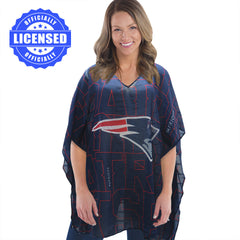 Just Released!  Officially Licensed New England Patriots Trace Caftan 2017 Edition