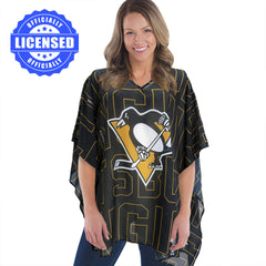 Just Released!  Officially Licensed Pittsburgh Penguins Trace Caftan 2017 Edition