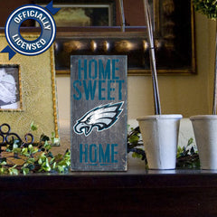 Officially Licensed Philadelphia Football Home Sweet Home Sign
