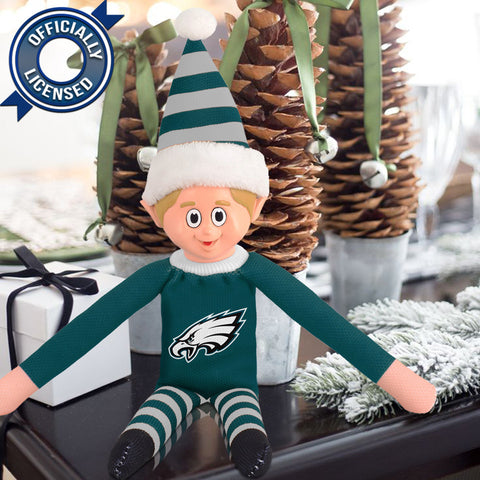 Limited Edition Philadelphia Eagles Plush Elf