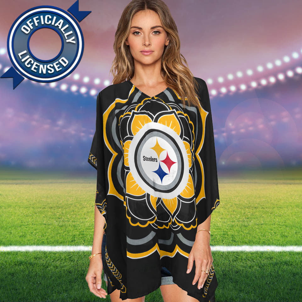 Limited Edition, Officially Licensed Pittsburgh Steelers Caftan