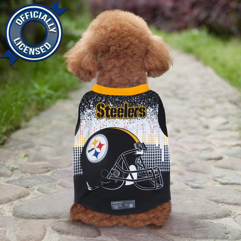 922e43f0175 Officially Licensed Pittsburgh Steelers Pet Performance Tee Shirt ...