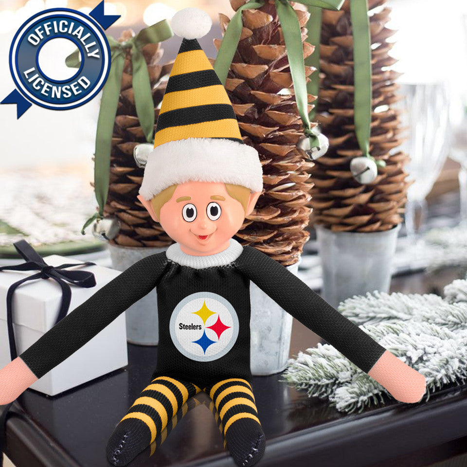 Limited Edition Pittsburgh Steelers Plush Elf