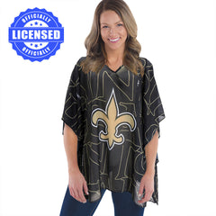 Just Released!  Officially Licensed New Orleans Saints Trace Caftan 2017 Edition