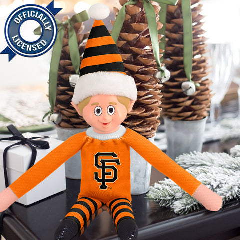 Limited Edition San Francisco Giants Plush Elf