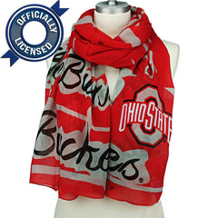 Officially Licensed Ohio State Buckeyes Scarf
