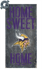 Officially Licensed Minnesota Football Home Sweet Home Sign