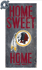 Officially Licensed Washington Football Home Sweet Home Sign